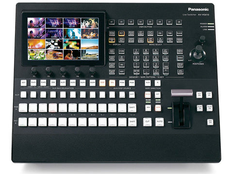 AV-HS410 HD/SD Multi-Format Live Switcher