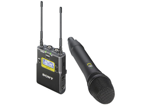 UWPD12/42 Handheld Mic TX and Portable RX Wireless System
