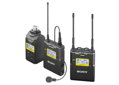 UWPD16 Lav Mic, Bodypack TX, Plug-on TX and Portable RX Wireless System