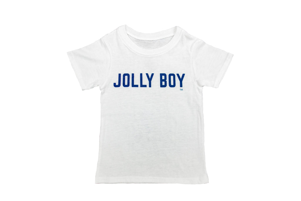 Jolly Boy White Tee