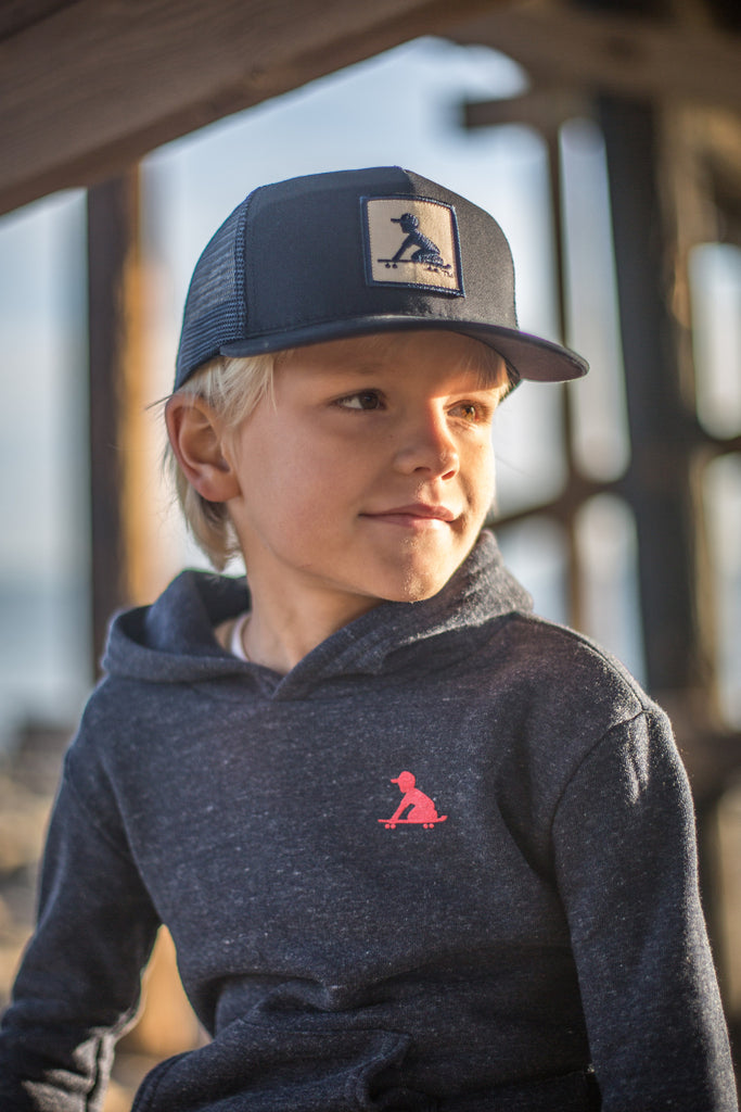 Kid Trucker Blue