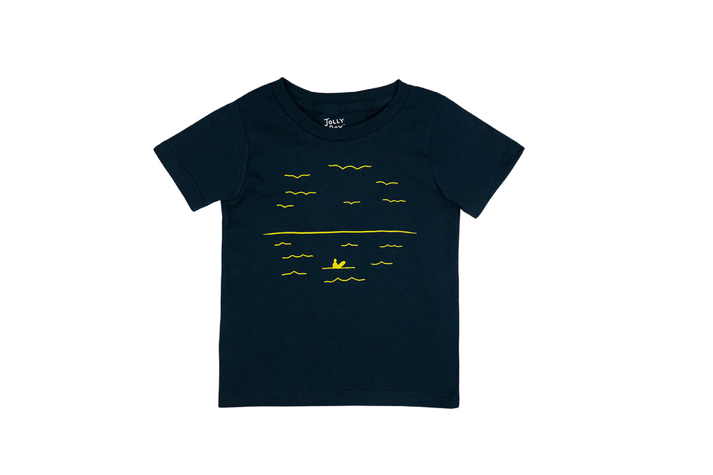 Bird, Waves, Surf Tee
