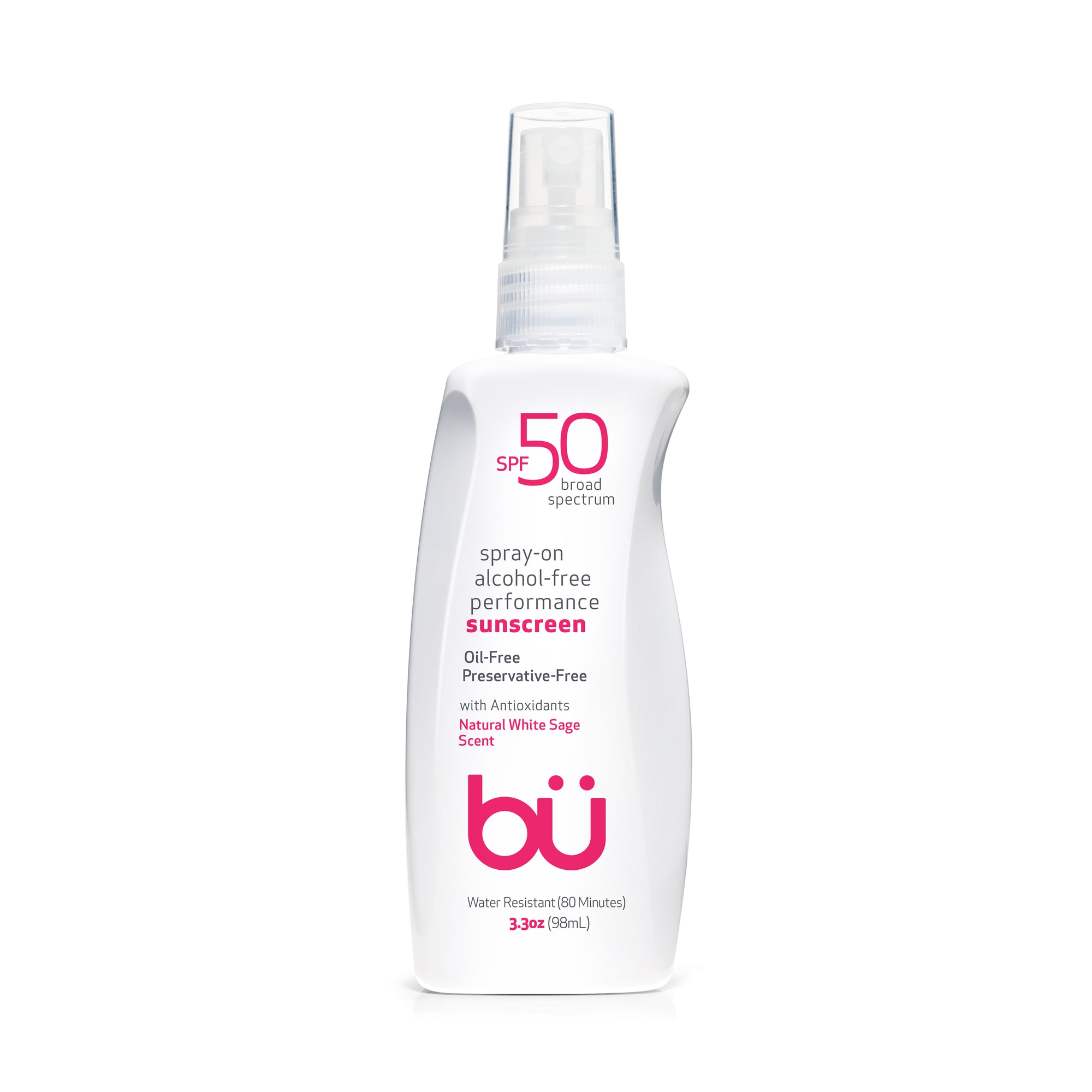 Bu SPF 50 Alcohol-Free/White Sage Scent Spray