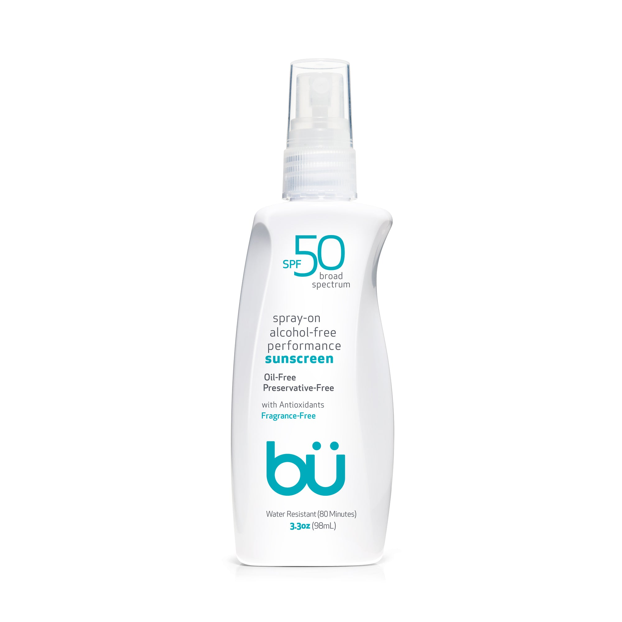 Bu SPF 50 Alcohol-Free/Fragrance-Free Spray