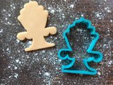 Angelina Cupcake Cookie Cutter with Cookie