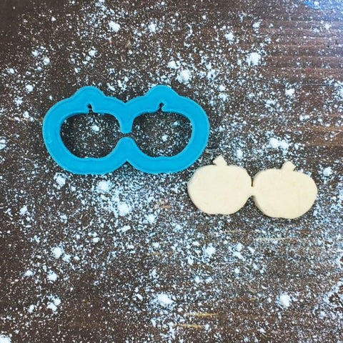 Apple Glasses Cookie Cutter