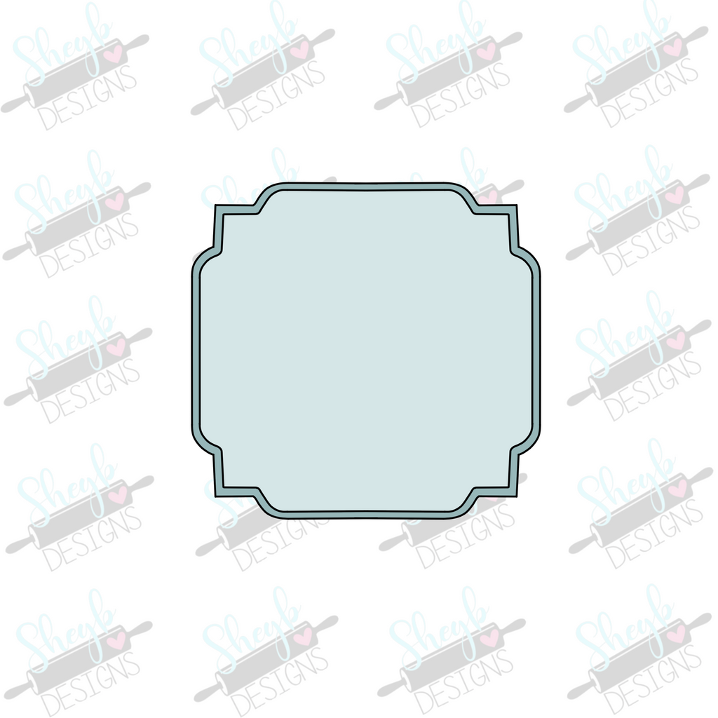 Art Deco Frame Cookie Cutter