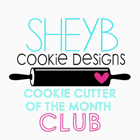 1 Year Subscription to Cookie Cutter of the Month Club