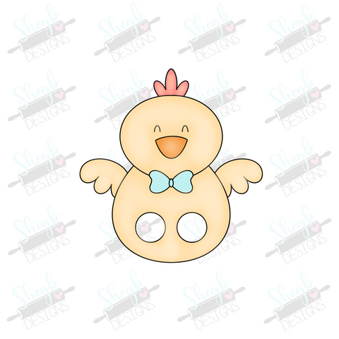 Chick Finger Puppet Cookie Cutter