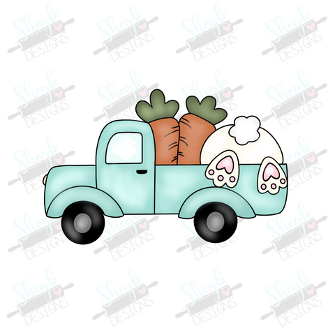 Easter Truck 2 Cookie Cutter