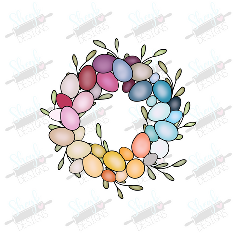 Egg Wreath Cookie Cutter