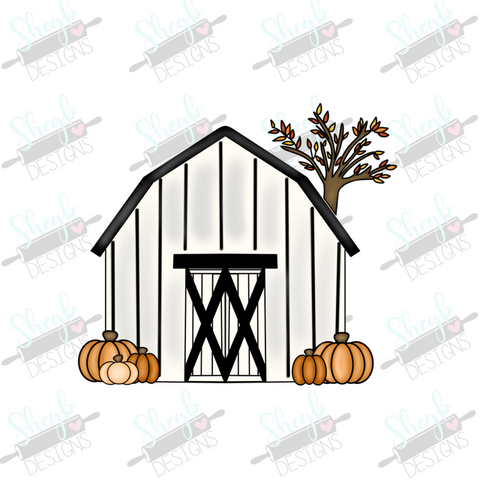 Fall Barn Cookie Cutter