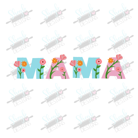 Floral Mama Cookie Cutter Set