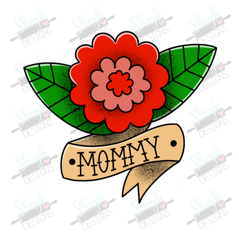 Mommy Tattoo Cookie Cutter