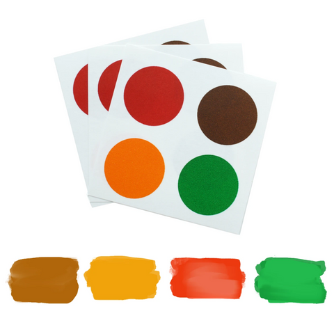 PYO Paint Palette - Christmas Colors