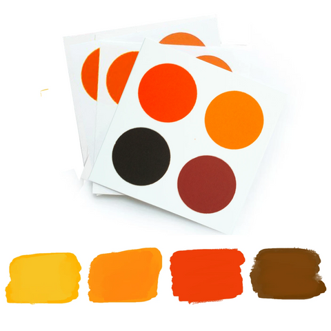 PYO Paint Palette - Fall Colors
