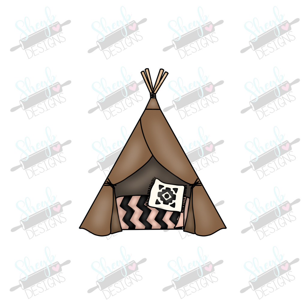 Teepee 2 Cookie Cutter