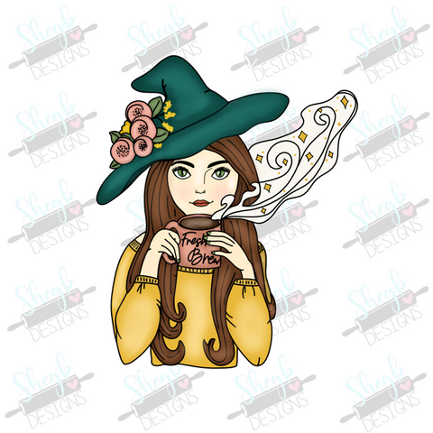 Woodland Witch Cookie Cutter