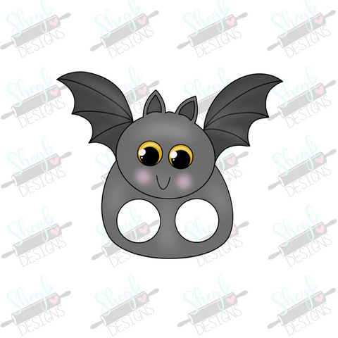 Bat Finger Puppet Cookie Cutter