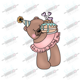 Birthday Bear Cookie Cutter
