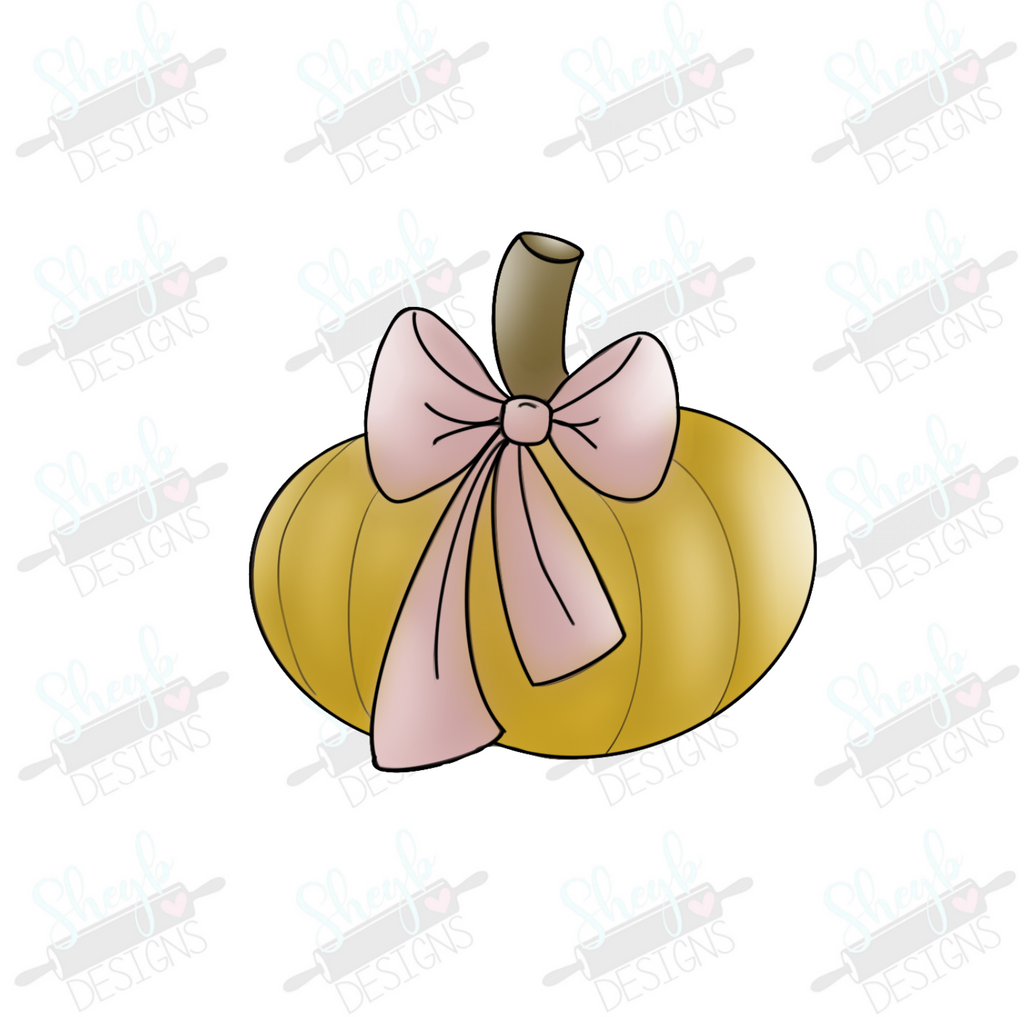 Bow Pumpkin Cookie Cutter