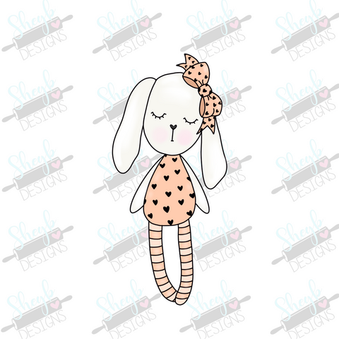 Briar the Bunny Cookie Cutter