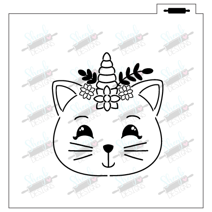 Brittany the Cat PYO Stencil