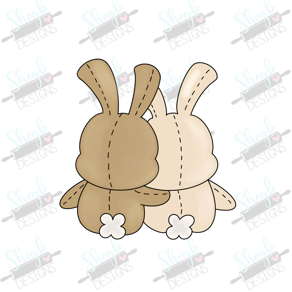 Bunny Friends Cookie Cutter