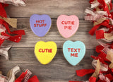 Candy Heart Multi Cutter Decorated