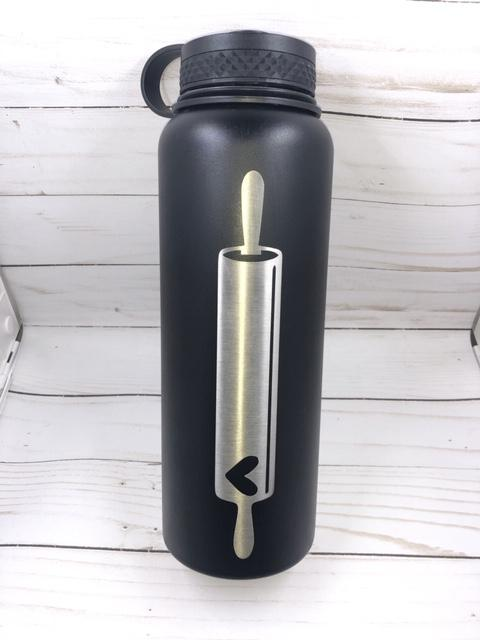 Custom 64oz Stainless Steel Water Bottle