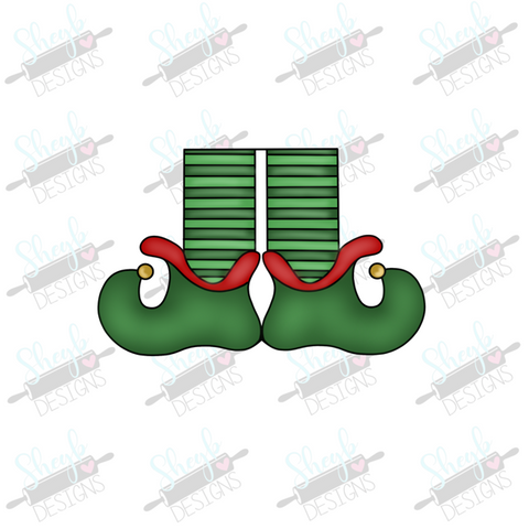Elf Feet 2 Cookie Cutter