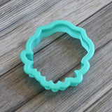 Floral Frame Cookie Cutter Side