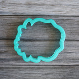 Floral Frame Cookie Cutter Top