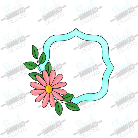 Floral Frame Cookie Cutter