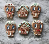 Gingerbread Boy Cookie Cutter Decorated