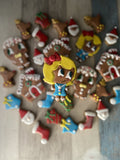 Gingerbread Girl Cookie Cutter Decorated