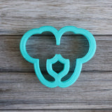 Girl Mouse Ears Headband Cookie Cutter Top