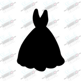 Gown Cookie Cutter