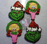 Grinch Cookie Cutter Decorated