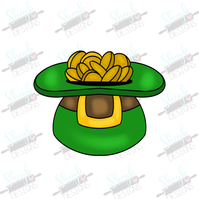 Hat of Gold Cookie Cutter