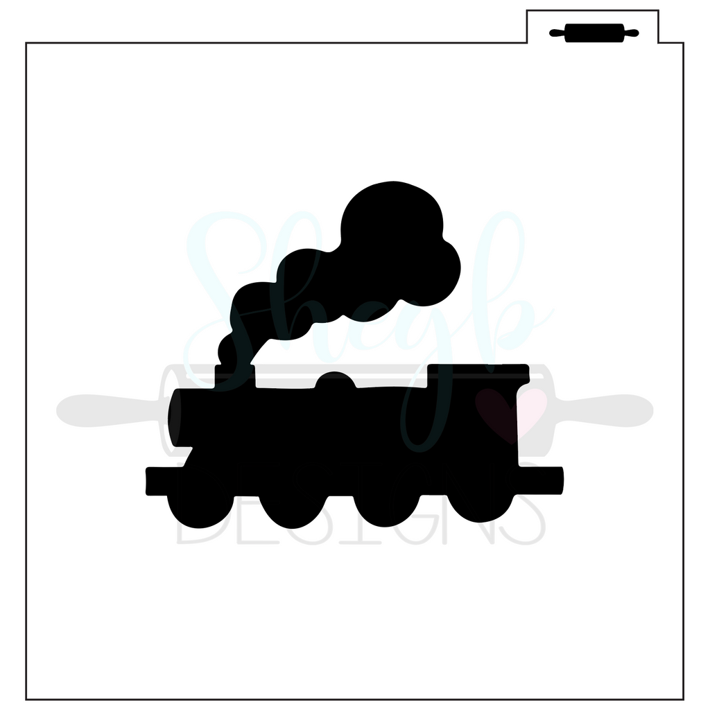 Hogwarts Express Train Stencil