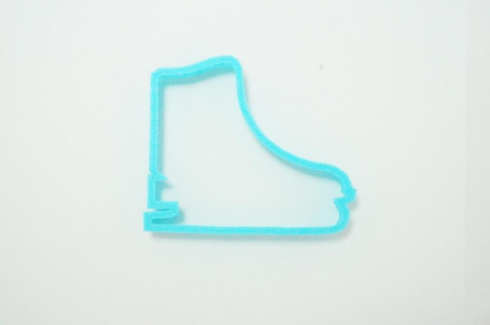 Ice Skate Cookie Cutter Top