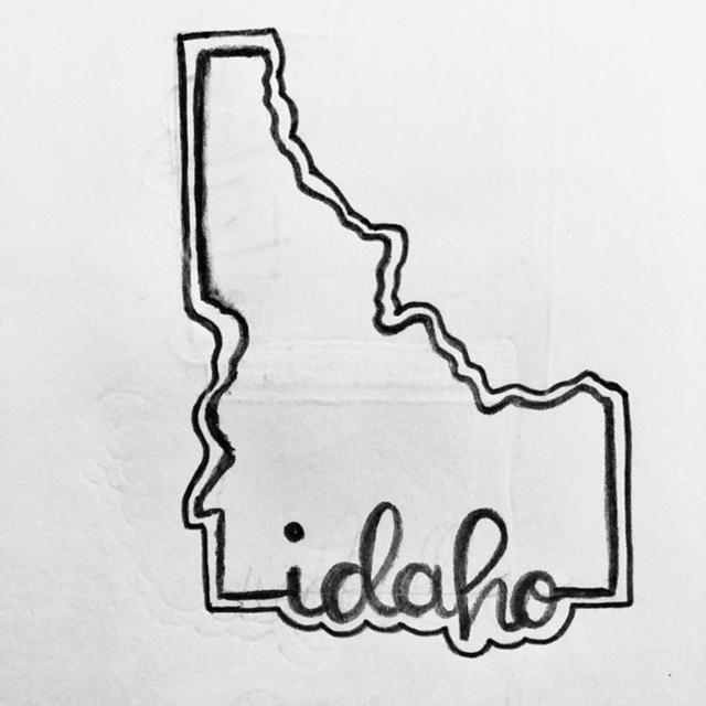 Idaho Cookie Cutter Sketch