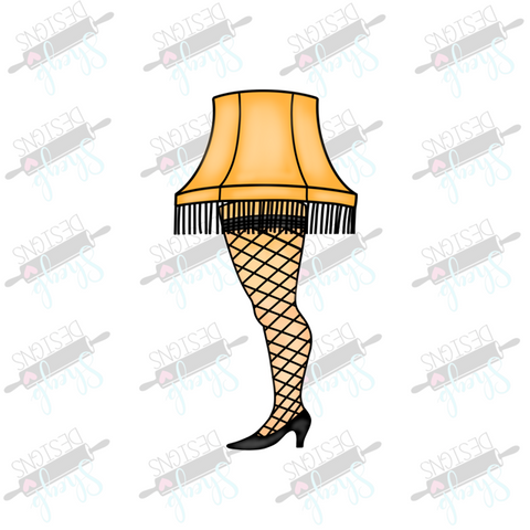 Leg Lamp Cookie Cutter