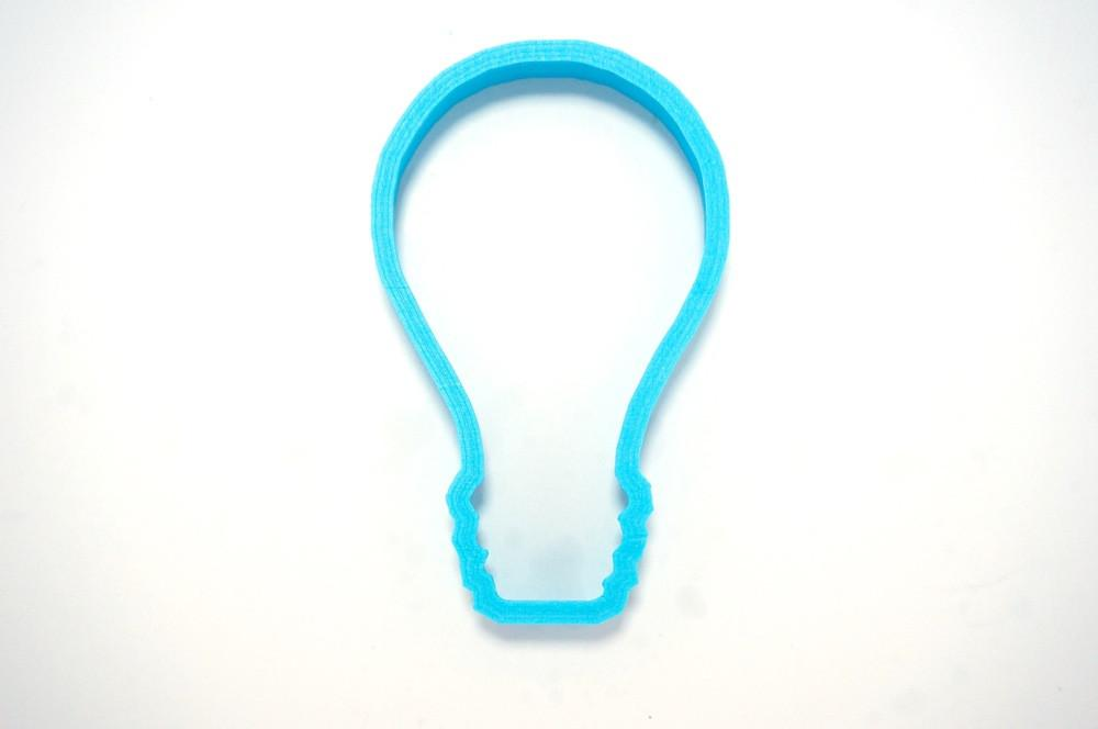 Light Bulb Cookie Cutter Top