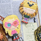 Luna Lovegood Cookie Cutter Decorated