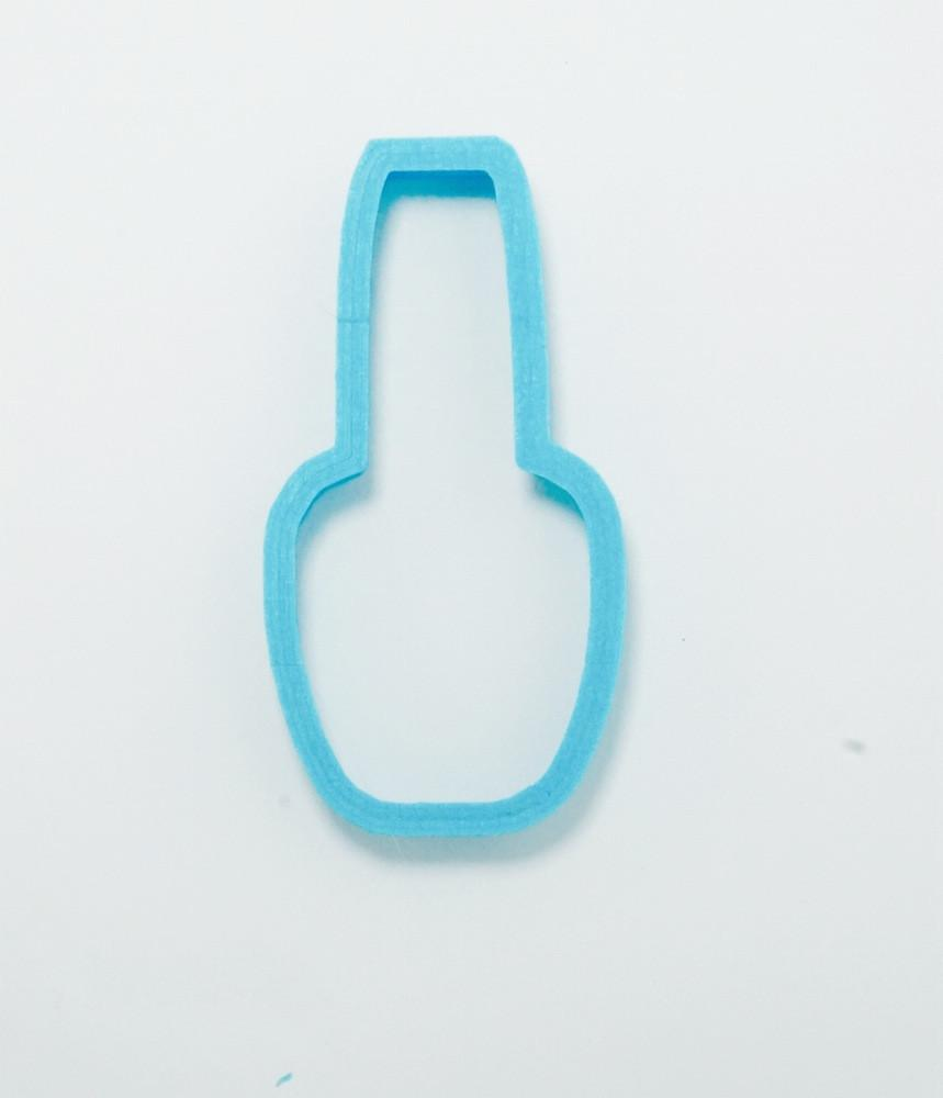 Nail Polish Cookie Cutter Top