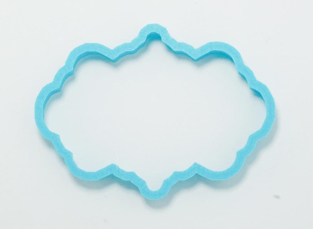 Ornate Frame Cookie Cutter Top