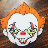Pennywise Cookie Cutter Decorated