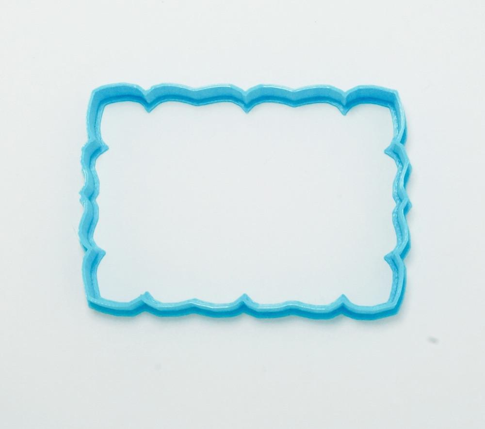 Petal Frame Cookie Cutter Top